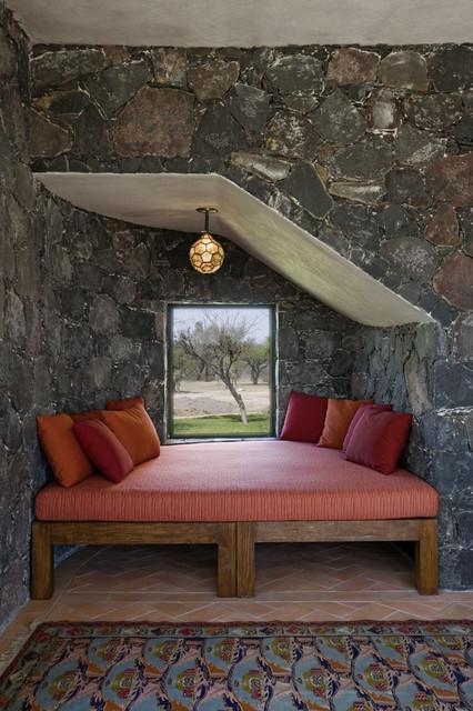 Mexico House mediterranean-bedroom