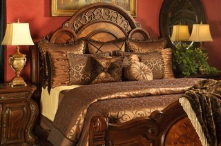 Mia Duvet Set Traditional Bedroom Salt Lake City By K R Interiors