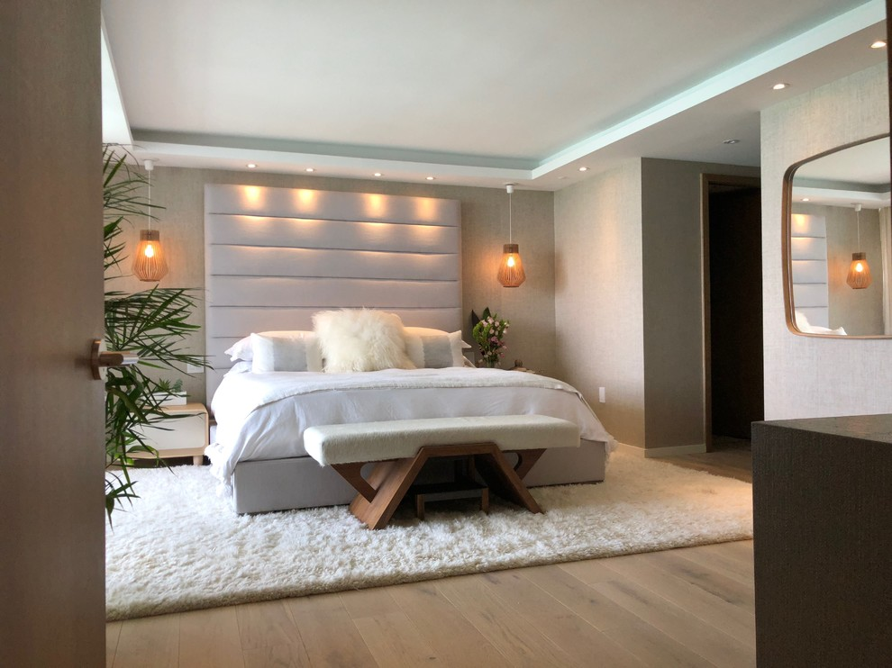 Miami Beach Modern Condo Modern Bedroom Miami By Kay Story Interiors
