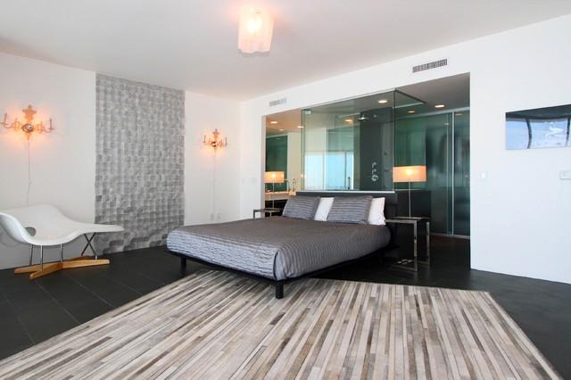 Miami Duplex contemporary-bedroom