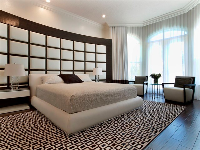MIAMI INTERIOR DESIGN HAWKS LANDING Contemporary Bedroom