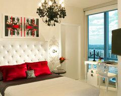 MIAMI INTERIOR DESIGN - JADE OCEAN contemporary-bedroom