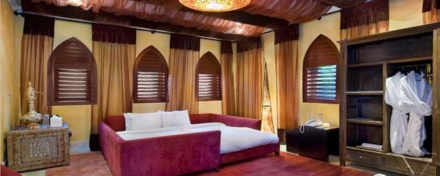 Miami Villa Moroccan elegance mediterranean-bedroom