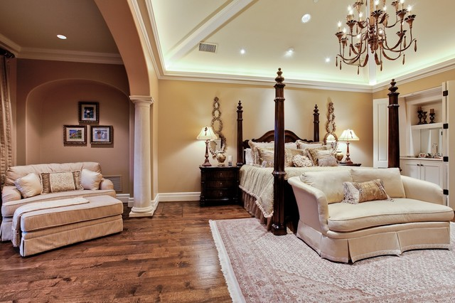 Bon MICHAEL MOLTHAN LUXURY HOMES INTERIOR DESIGN GROUP Mediterranean Bedroom