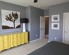 Michelle's Master Bedroom. eclectic-bedroom