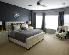 Michelle's Master Bedroom. contemporary-bedroom