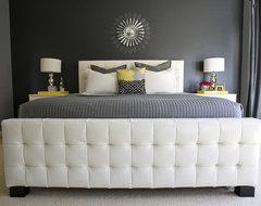 Michelle's Master Bedroom. transitional-bedroom