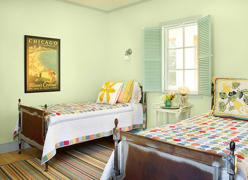 Best Paint Colors for Your Home: Mint & Lime Green   DIY