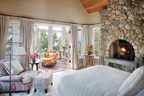 Awesome Rustic Bedroom By Chicago Interior Designers U0026 Decorators Alan Design Studio