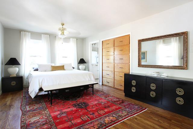 Mid Century Eclectic Midcentury Bedroom Austin By