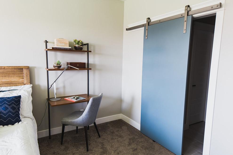 Mid Century Modern Barn Doors Midcentury Bedroom Salt Lake