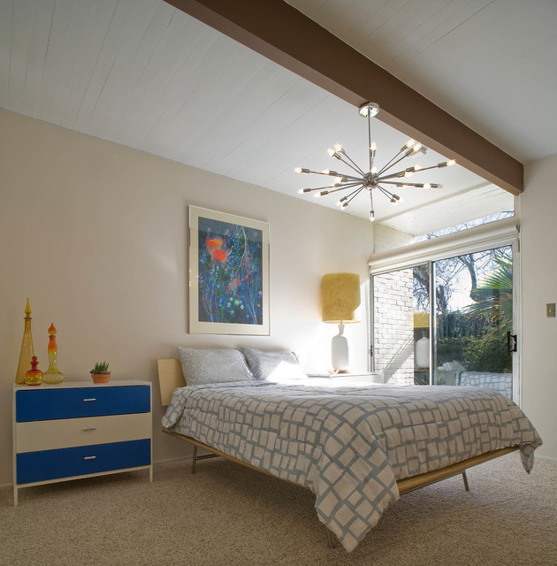 Mid Century Modern Midcentury Bedroom Houston By