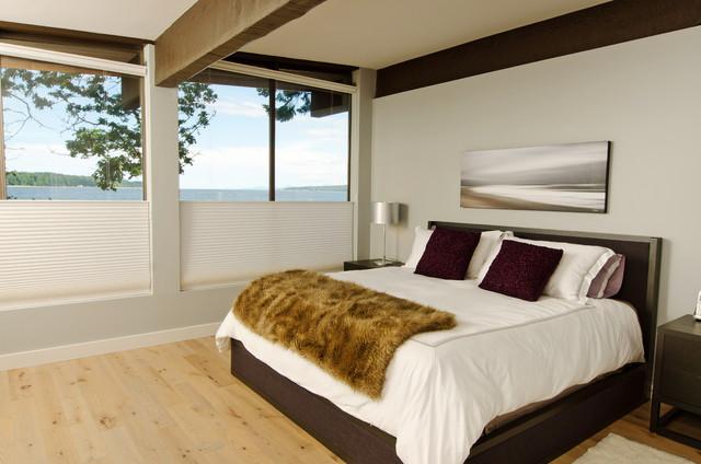 Mid Century Modern Coastal Getaway Midcentury Bedroom Vancouver By De