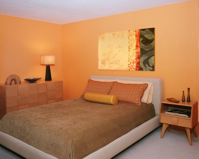 Mid Century Modern Condo Renovation Midcentury Bedroom Boston By Andr