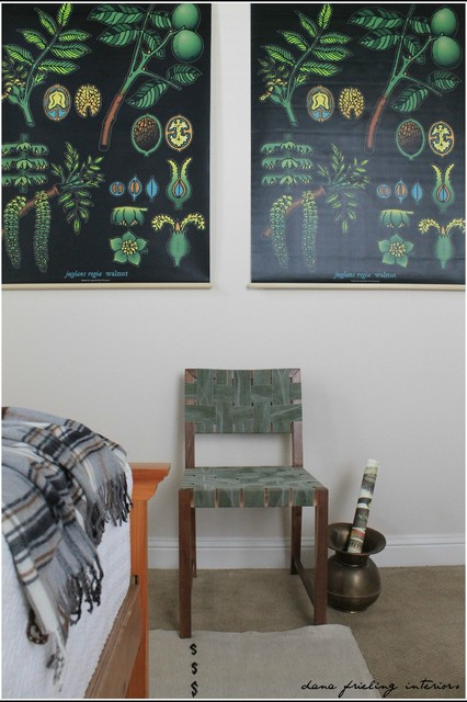 Mid Century Modern Guest Room Transformation eclectic-bedroom
