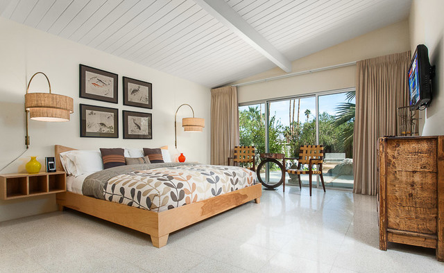 Interior Mid Century Modern Bedroom Ideas mid century modern home in palm springs midcentury bedroom bedroom