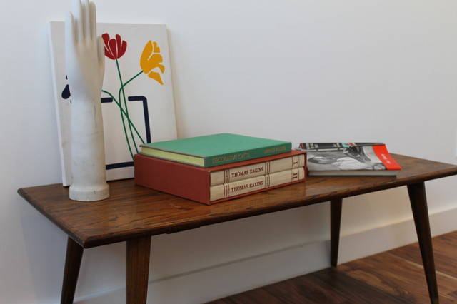 Mid Century Modern Table Display - Modern - Bedroom - los angeles - by ...