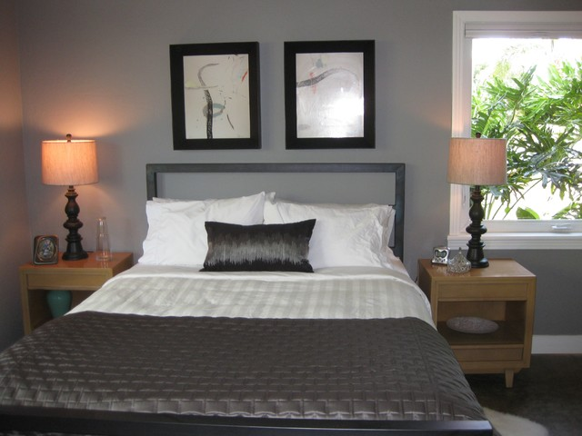Mid Century Modern Update Midcentury Bedroom Tampa By IonDesign LLC