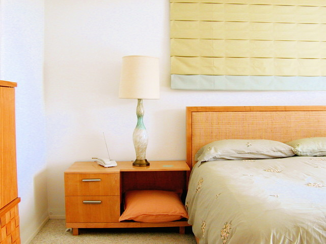 mid century modern view house modern bedroom los angeles by