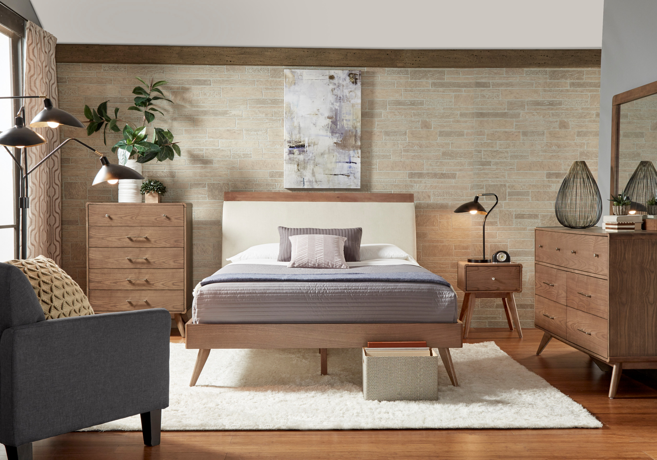 75 Beautiful Mid Century Modern Bedroom Pictures Ideas February 2021 Houzz