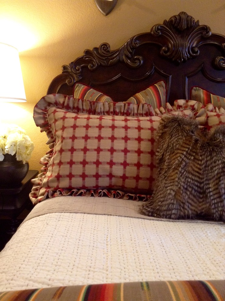 Inspiration for a southwestern bedroom remodel in Oklahoma City