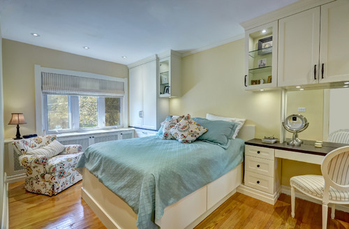 Midtown Toronto Master Bedroom by Space Solutions on Houzz