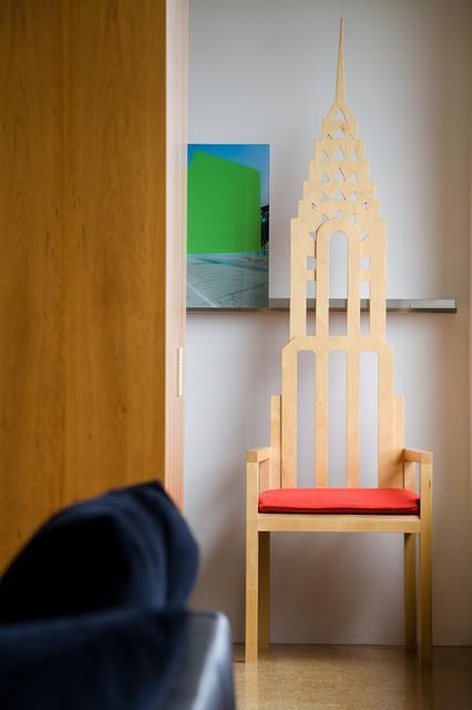 Mies Van der Rohe – Condo – Highfield House contemporary-bedroom