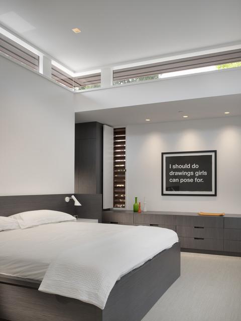 Mill Valley House modern-bedroom