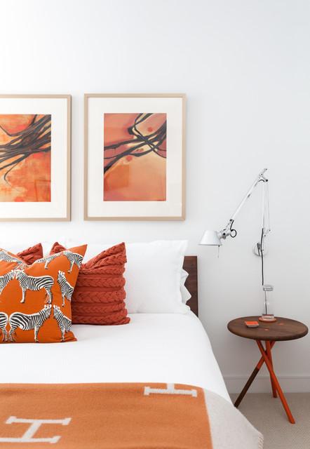 Millenium Tower contemporary-bedroom