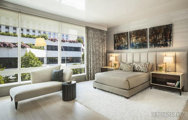 Millennium Tower contemporary-bedroom
