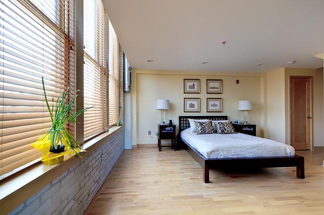 Milwaukee condo loft room addition traditional bedroom for Loft additions