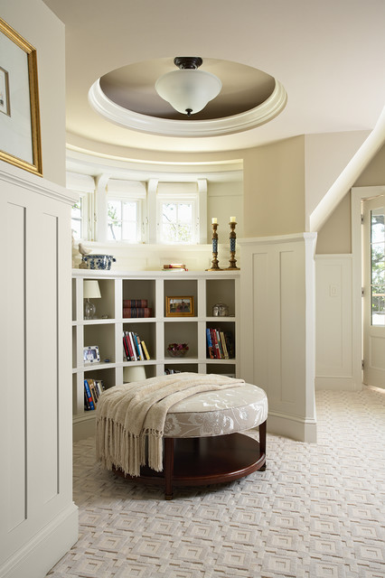 Minnetonka Shingle-Style traditional bedroom