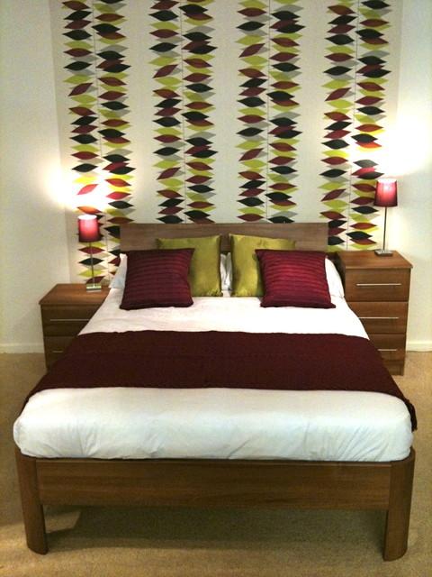 miro bedroom midcentury bedroom cardiff by zoe