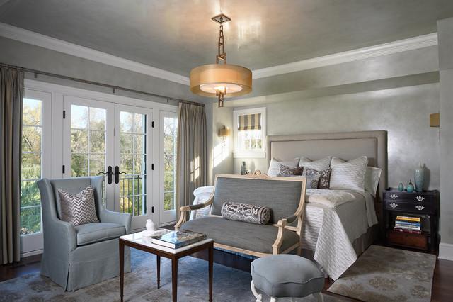 Mirror Lake Shingle Style Victorian Bedroom