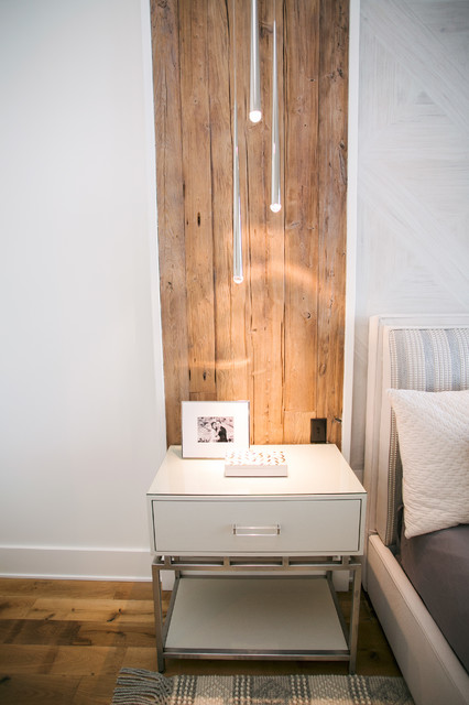 Example of a trendy bedroom design in Indianapolis