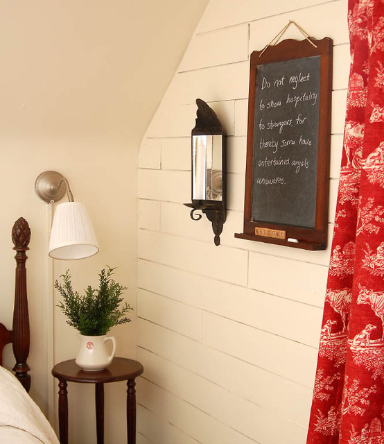 Miss Mustard Seed's Guest Room eclectic-bedroom