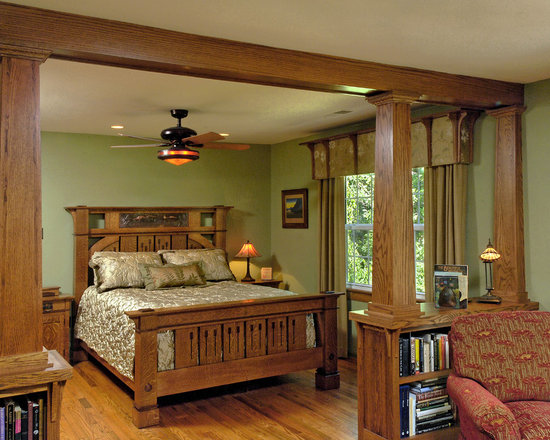 craftsman arts and crafts bedroom design ideas pictures remodel