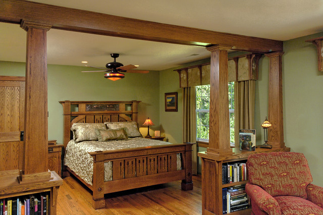 mission accomplished stickley arts and crafts award winning bedroom