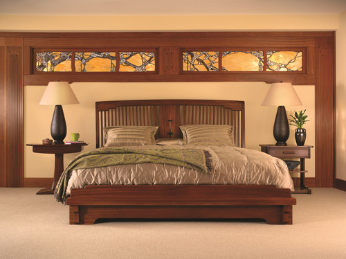 Lovely Bedroom Design: Classic Mission Style