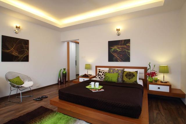 Misty Haven Villa contemporary-bedroom