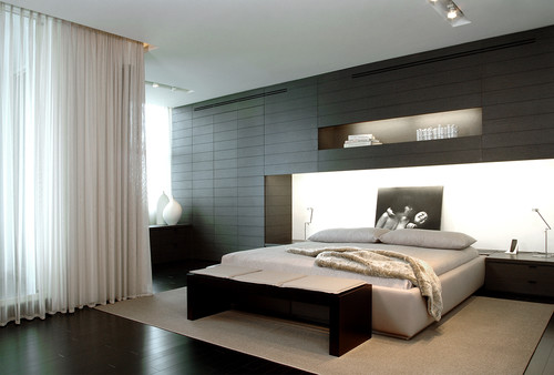 Modern residential interior: 6 color ideas for Interiors (PART II) contemporary bedroom