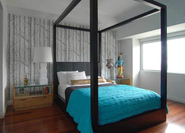 contemporary bedroom by MJ Lanphier