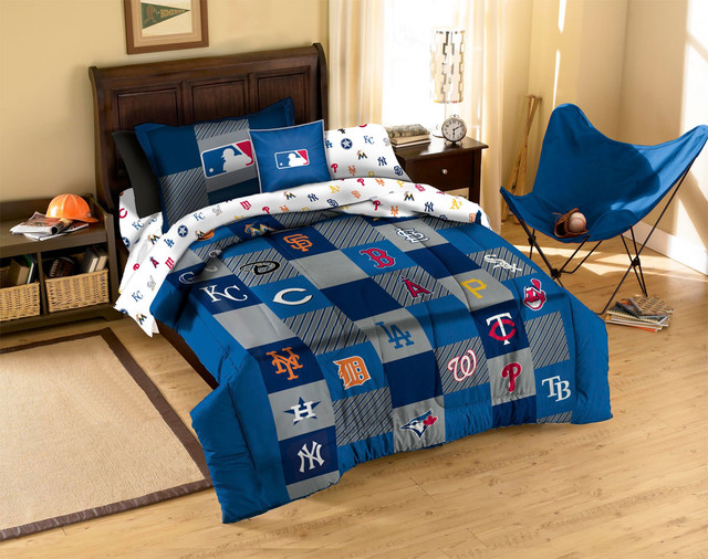 MLB Baseball Teams Bedding And Room Decorations Modern Bedroom