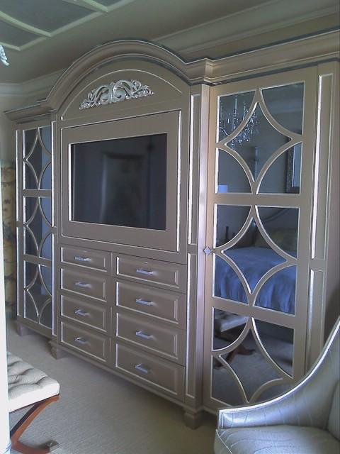 Custom Wall Units Naples Fl Mediterranean Bedroom Miami By Christi 39 S Cabinetry
