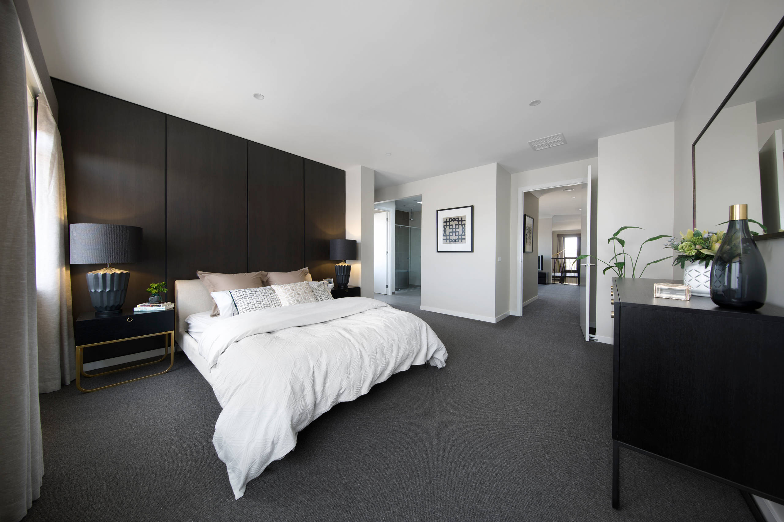 Dark Carpet Bedroom Ideas And Photos Houzz