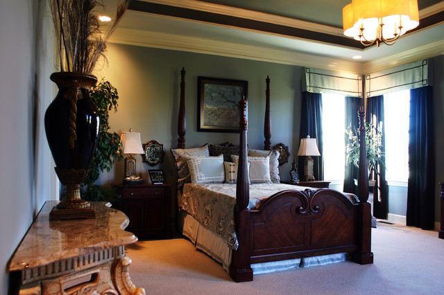 model home brentwood tn traditional bedroom