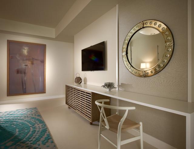 Model Residences at the St. Regis Resort, Bal Harbour modern-bedroom
