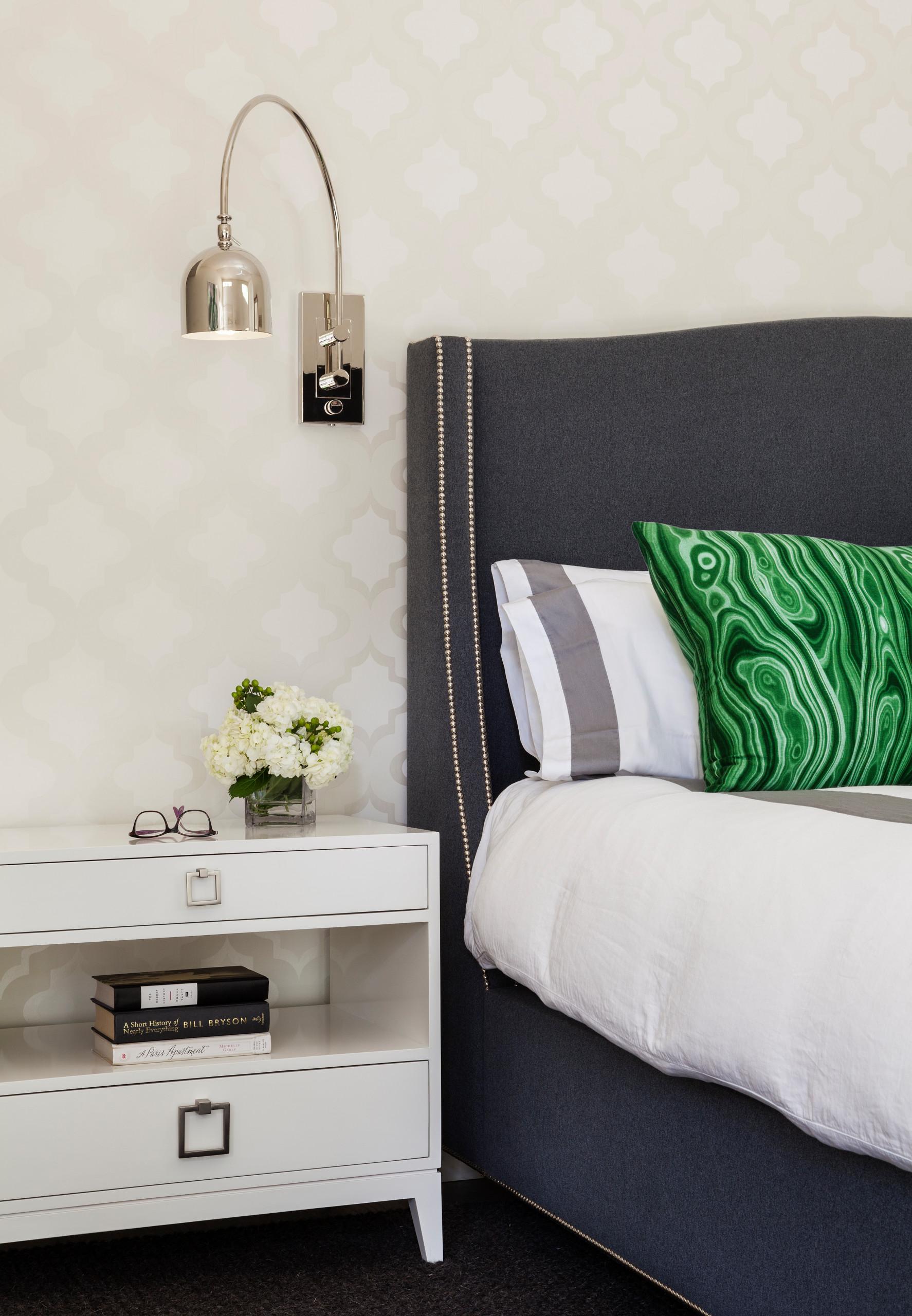 Modern & Eclectic bedroom