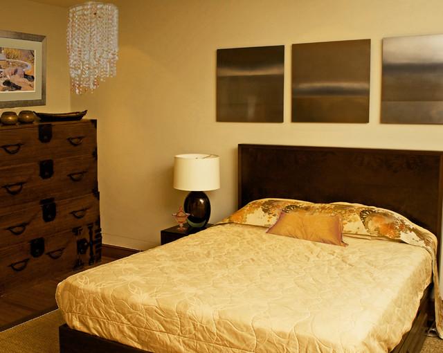 Modern asian zen inspired master bedroom for Modern asian bedroom
