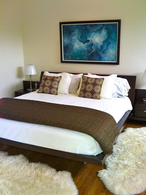Modern Atlanta House Tour/Becky Harris contemporary-bedroom